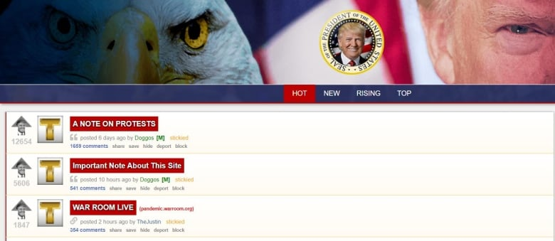 Montreal servers hosted TheDonald, far-right site blamed for stirring up violence at Capitol riot