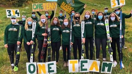 University of Alaska ski team