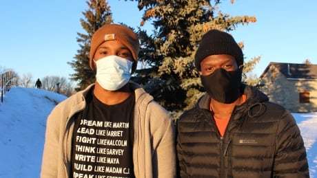 How 2 young Black men bonded over their shared experiences in small-town Alberta
