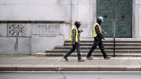 Bank of Canada construction workers