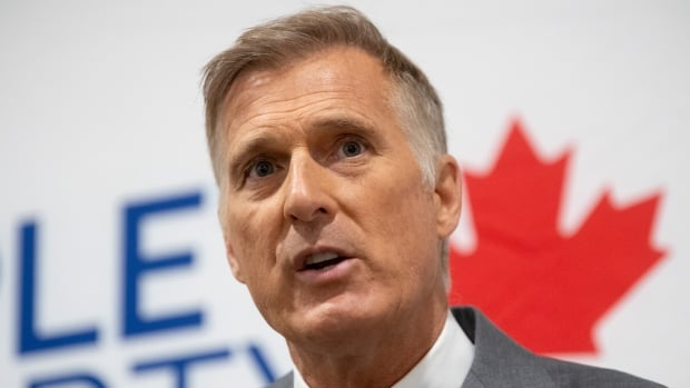People's Party of Canada Leader Maxime Bernier leaves Manitoba after arrest for breaking pandemic rules