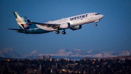 WestJet Max Debut 20210121