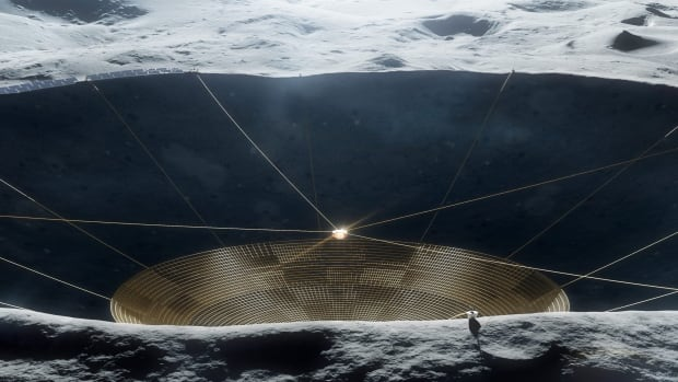 Building Earth's largest telescope on the far side of the moon - CBC.ca