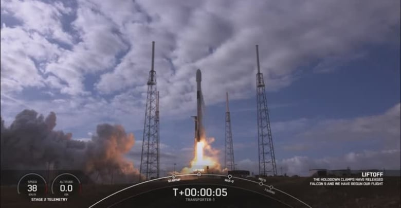 - spacex falcon 9 smallsat rideshare program - Fireballs streaking across the sky spark epic hunt for space garbage
