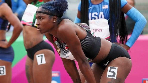 Pandemic allows sprinter Crystal Emmanuel to rehab, improve mental focus   CBC Sports