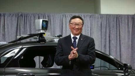 BlackBerry John Chen self driving