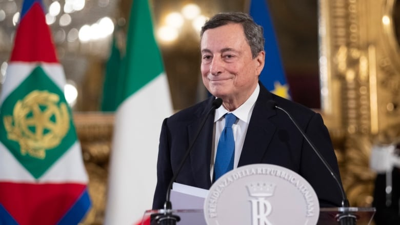 Italian president has summoned Draghi