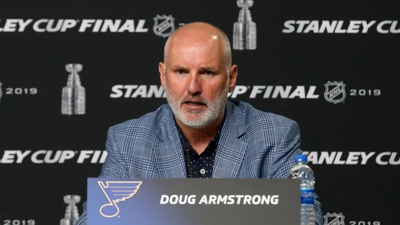 Team Canada taps Blues' Armstrong as GM ahead of Olympics