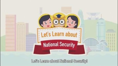 Hong Kong National Security Cartoon