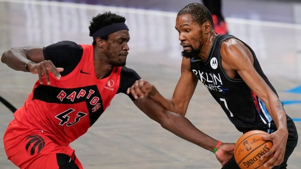 Nets' Durant pulled from loss against Raptors due to health and safety protocols | CBC Sports