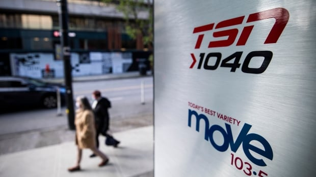 Bell cancels all-sports radio format on channels in Vancouver, Winnipeg and Hamilton | CBC News
