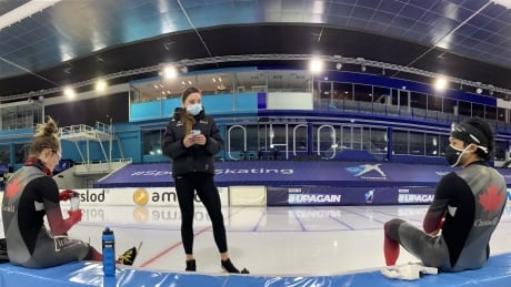 Back on track: World champ Shannon Rempel is Canada's new speed skating assistant coach