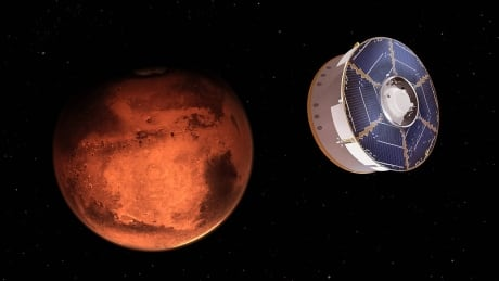 Perseverance on its way to Mars