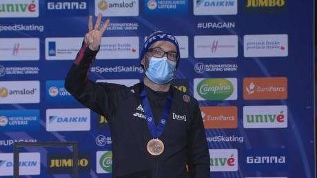 Canada's Dubreuil captures 3rd career world championship bronze medal