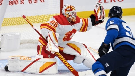 Flames remain in thick of playoff hunt thanks to goalie Jacob Markstrom