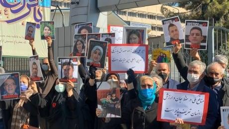 Flight PS752 families iran