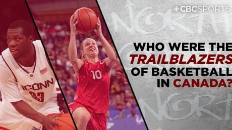 Who were the trailblazers of basketball in Canada?