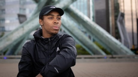 He's just 22 years old but already a key voice in B.C's anti-racism movement