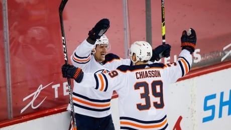 McDavid, Draisaitl held pointless but Oilers hold on to edge Flames