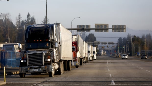 Sask. trucker says he can't access certain health-care services because he crosses the border