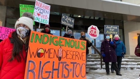 Whitehorse protest women's violence