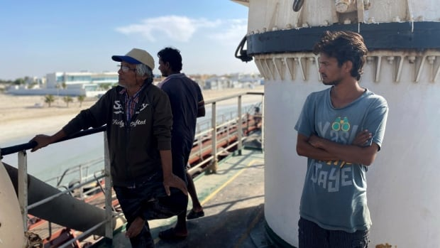 After 3 years abandoned at sea without pay, this oil tanker crew is on cusp of going home   CBC Radio