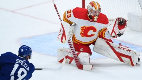 David Rittich posts 34-save shutout as Flames blank Maple Leafs