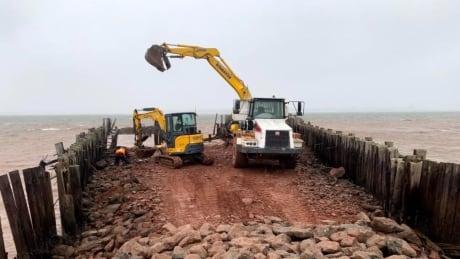 Rocky Point wharf removal