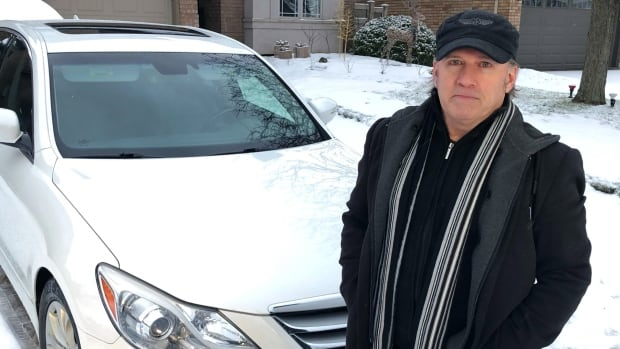 Ontario man battles Bell and contractor after worker uses power tool to clean his car | CBC News