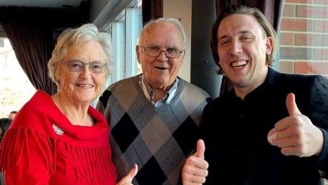 Mathewson and grandparents