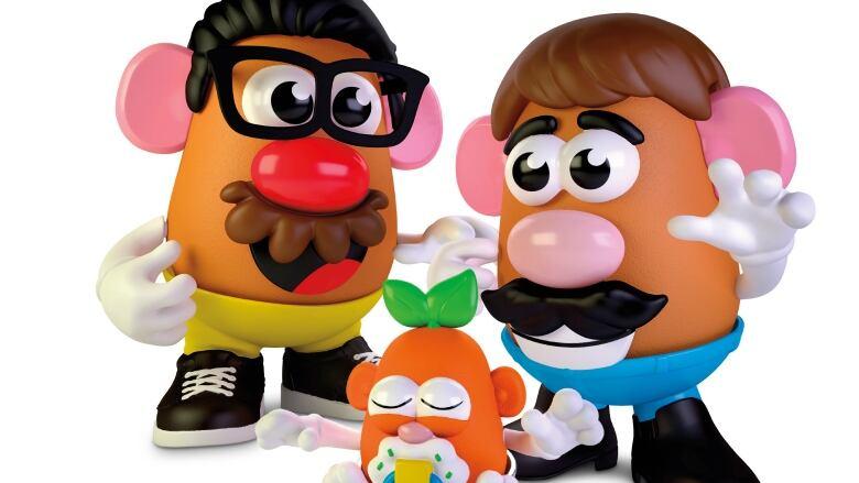 Welcome, Potato Head! Beloved toy goes gender-neutral