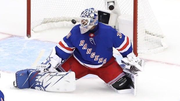 Henrik Lundqvist back on ice, still 'months away' from deciding NHL future