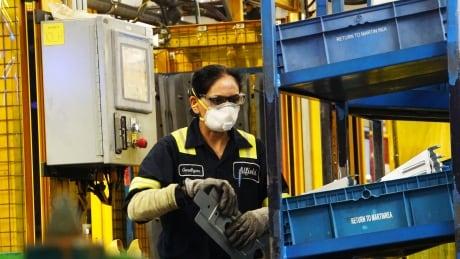 Auto parts manufacturer Martinrea, Vaughan, Ontario.