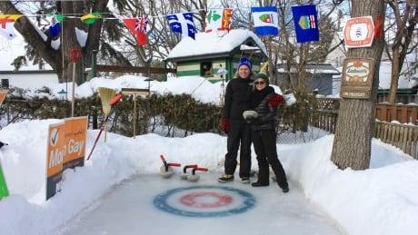 backyard rink curling