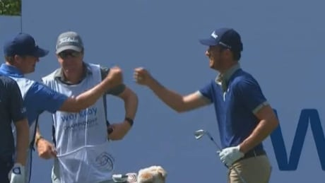 Trevor Simsby gets hole-in-one at his first ever PGA event