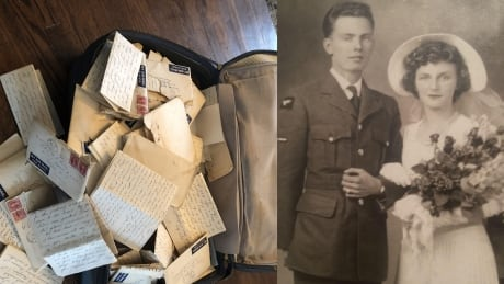 <div>Toronto man shares grandparents' love letters from WWII found in old suitcase</div>