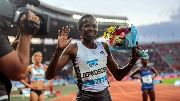 Bahrain runner Jepkosgei banned for 3 years after faking car crash to miss doping test | CBC Sports