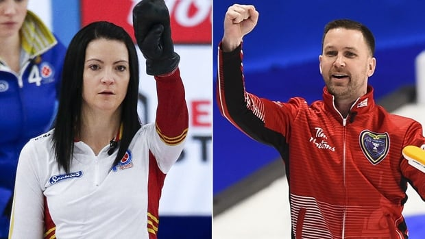 Einarson, Gushue team up for national mixed doubles championship