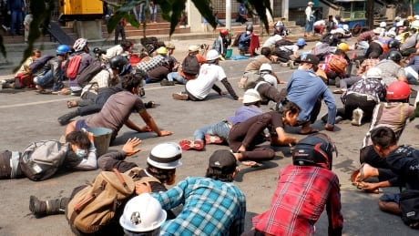 Myanmar security forces shoot and kill at least 34 pro-democracy demonstrators