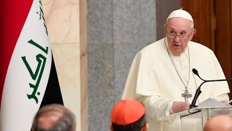 Pope Francis visits Iraq in his first trip during the pandemic