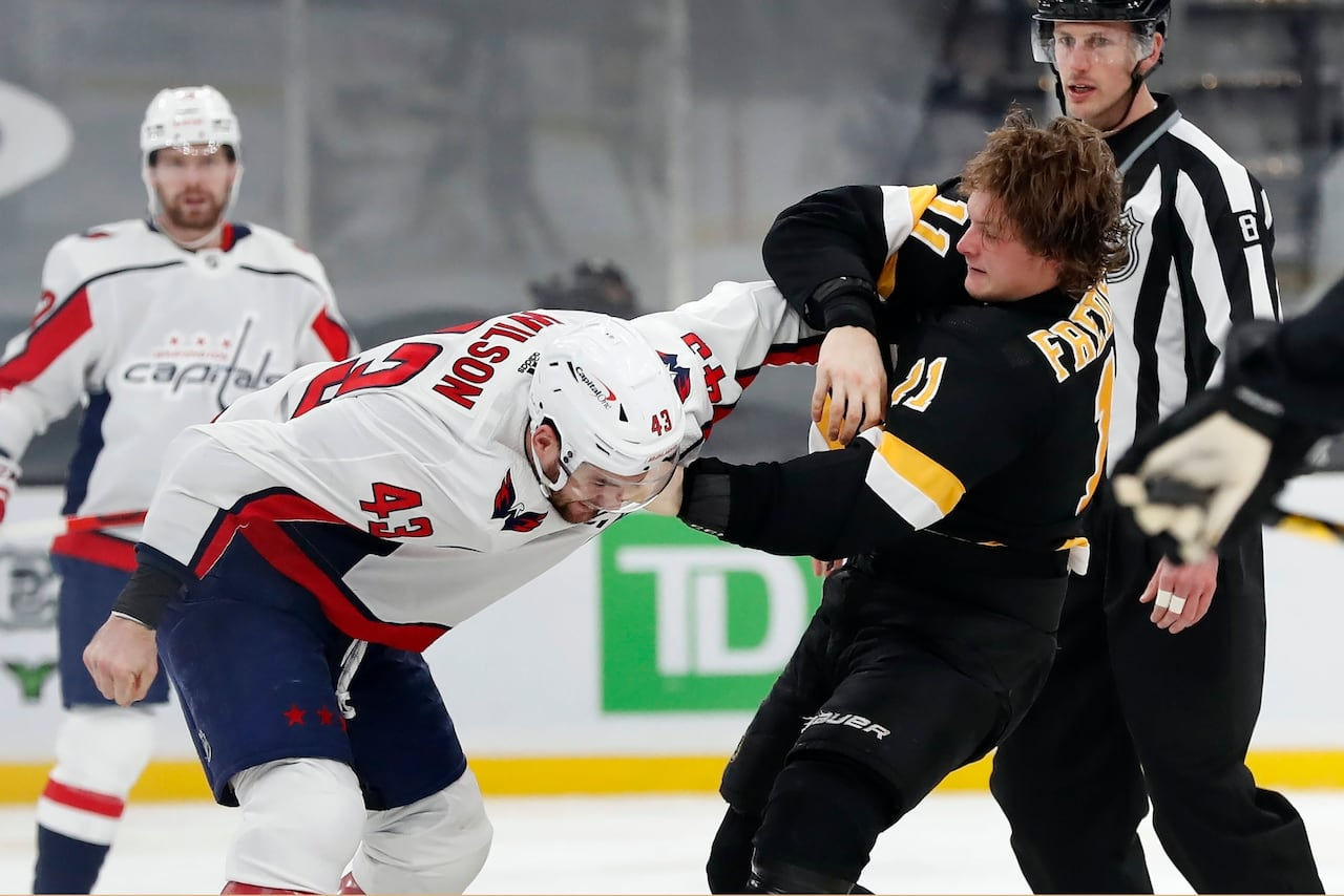 Capitals Wilson Suspended 7 Games For Boarding Carlo Released From Hospital Cbc Sports