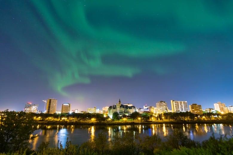 Interest in Saskatchewan Aurora Hunters group spikes during pandemic
