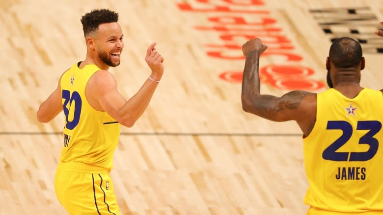 Team LeBron rout Team Durant to win NBA All-Star Game   CBC Sports