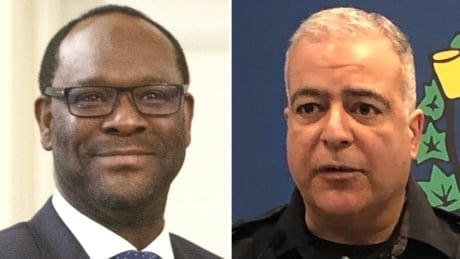 Alberta Justice Minister Kaycee Madu - Lethbridge Police Chief Shahin Mehdizadeh