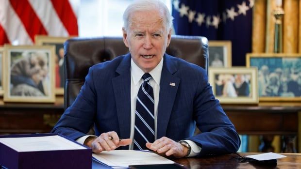 First major law of Biden era makes a big bet: that Americans want a broader safety net | CBC News