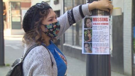 Family searches for clues months after 24-year-old Cree woman vanishes in downtown Vancouver