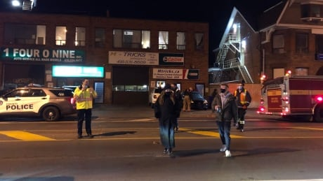 Residents evacuated from Bloor Street West building