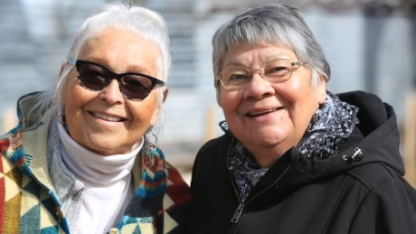 Clan Mothers Mae Louise and Belinda