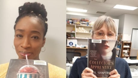 London Librarian Lana Winchester-Tucker and staff get creative with book face in 2021