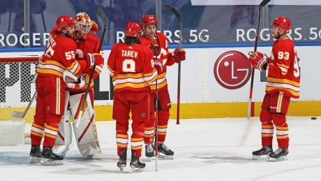 Giordano scores winner as Flames add to Maple Leafs' recent woes